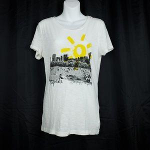 Aeropostale Sun at NYC Park Burnout T-Shirt